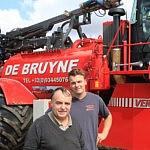Marc De Bruyne remporte Agrafiek 2015 dans la catégorie Entrepreneur Agricole